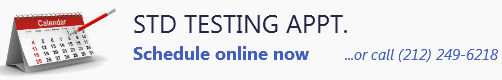 Schedule STD Testing appointment online